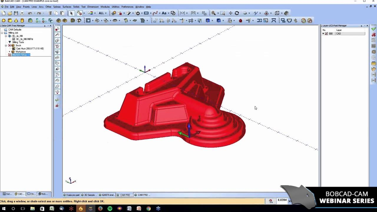 Easy Ways To Improve D Machining With Cad Cam Software Bobcad Cam Webinar Series