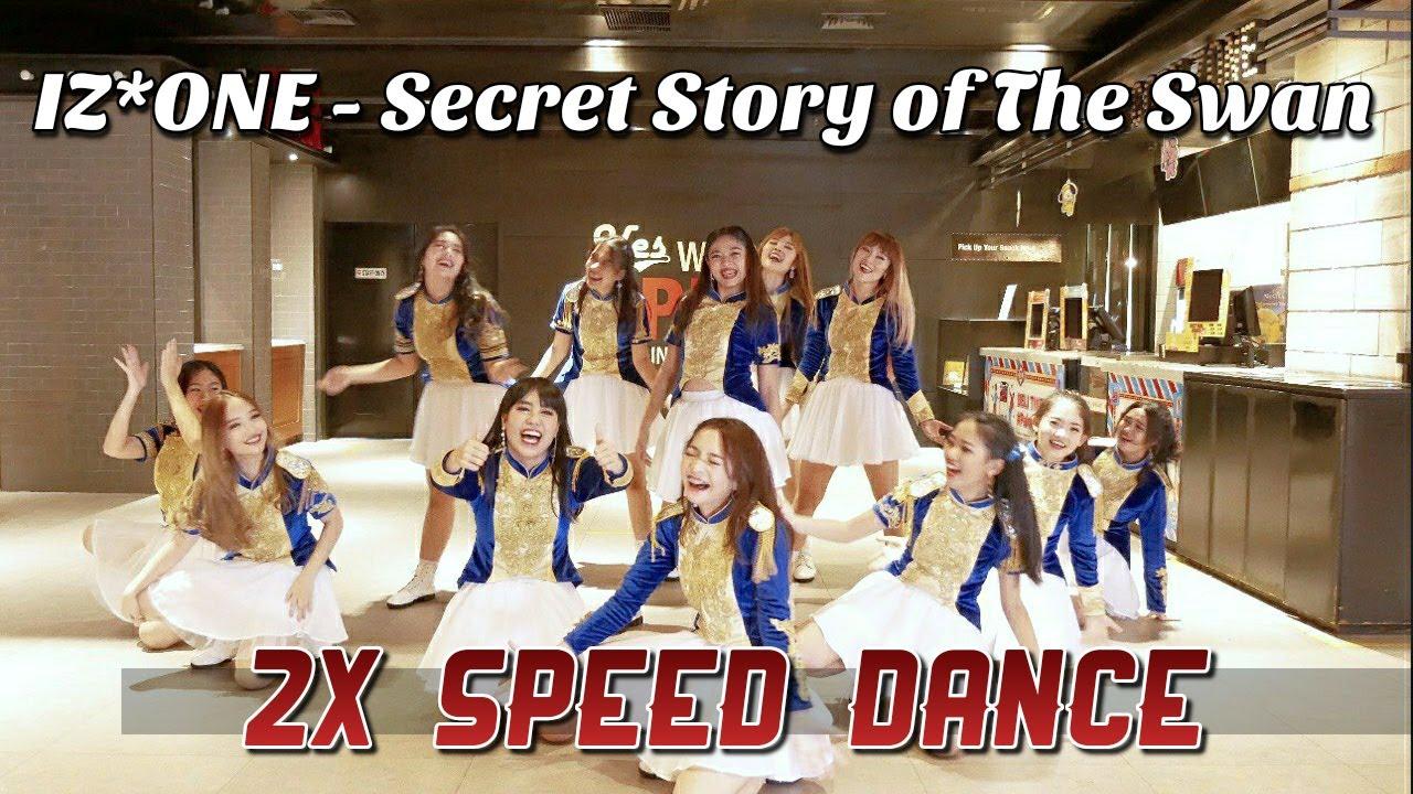IZ*ONE - Secret Story of the Swan 2X Speed Dance