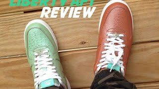 Nike Air Force 1 Statue Of Lady Liberty Sneaker Detailed Review + On Feet