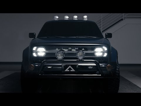 Alpha Motor Corporation Debuts WOLF™, Pure Electric Truck at The...