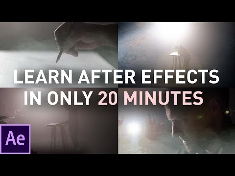 Learn After Effects in 20 Minutes: FOR BEGINNERS