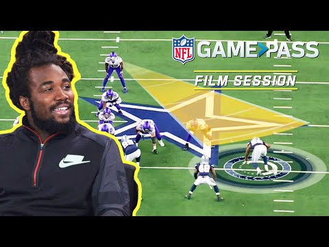 [Highlight] Dalvin Cook Breaks Down the Art of Creating Contact , Instincts, & Pass Blocking | NFL Film Session