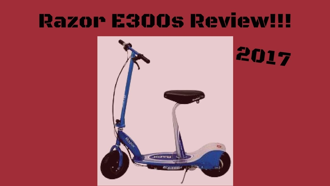 Razor E300s Electric Scooter Review 2017 Youtube