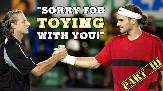 10 GLORIOUS Minutes of Federer and Nalbandian Playing Cat & Mouse! (Pt.3)
