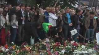 Tribute to Norway, terrorist attack 22.07.11 English sub. (Some Die Young - Laleh) HD