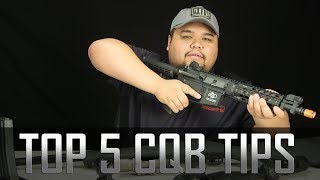 Top 5 CQB Tips! - Airsoft GI
