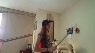 Competição de funk no violino