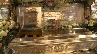 Патриарх Кирилл совершил литургию в Покровском ставропигиальном женском монастыре(8 марта 2015 года, в Неделю 2-ю Великого поста, день памяти святителя Григория Паламы и праздник обретения моще..., 2015-03-08T23:35:37.000Z)