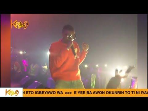 WIZKID DAVIDO SARKODIE KISS DANIEL SHUTDOWN ONE AFRICA MUSIC FEST DUBAI