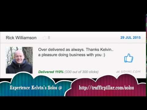 Solo Ads Review & Testimonial for Kelvin Chan by Rick Williamson