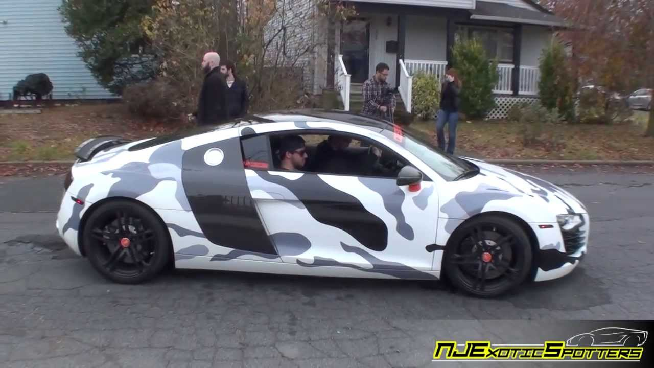 Camo Audi R8 Cars Amp Coffee Deluxe Car Storage 10 17
