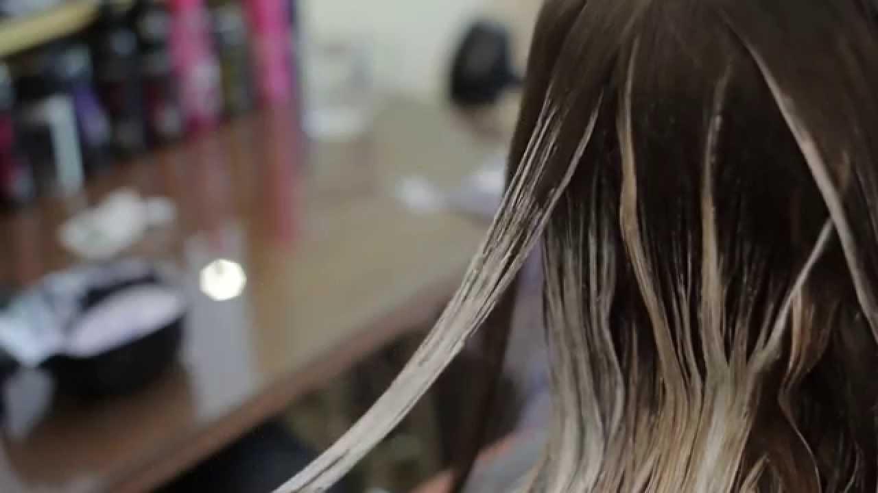 Balayage melír - Gyönyörű frizura szabadkezes melírral - YouTube c7d800e4ce