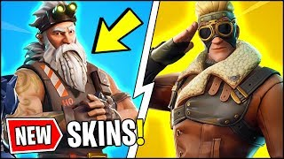 *ALL* Fortnite v7.00 LEAKS!! | NEW SKINS, PILOTS, SANTA, ONESIE, PICKAXE (Fortnite Update)