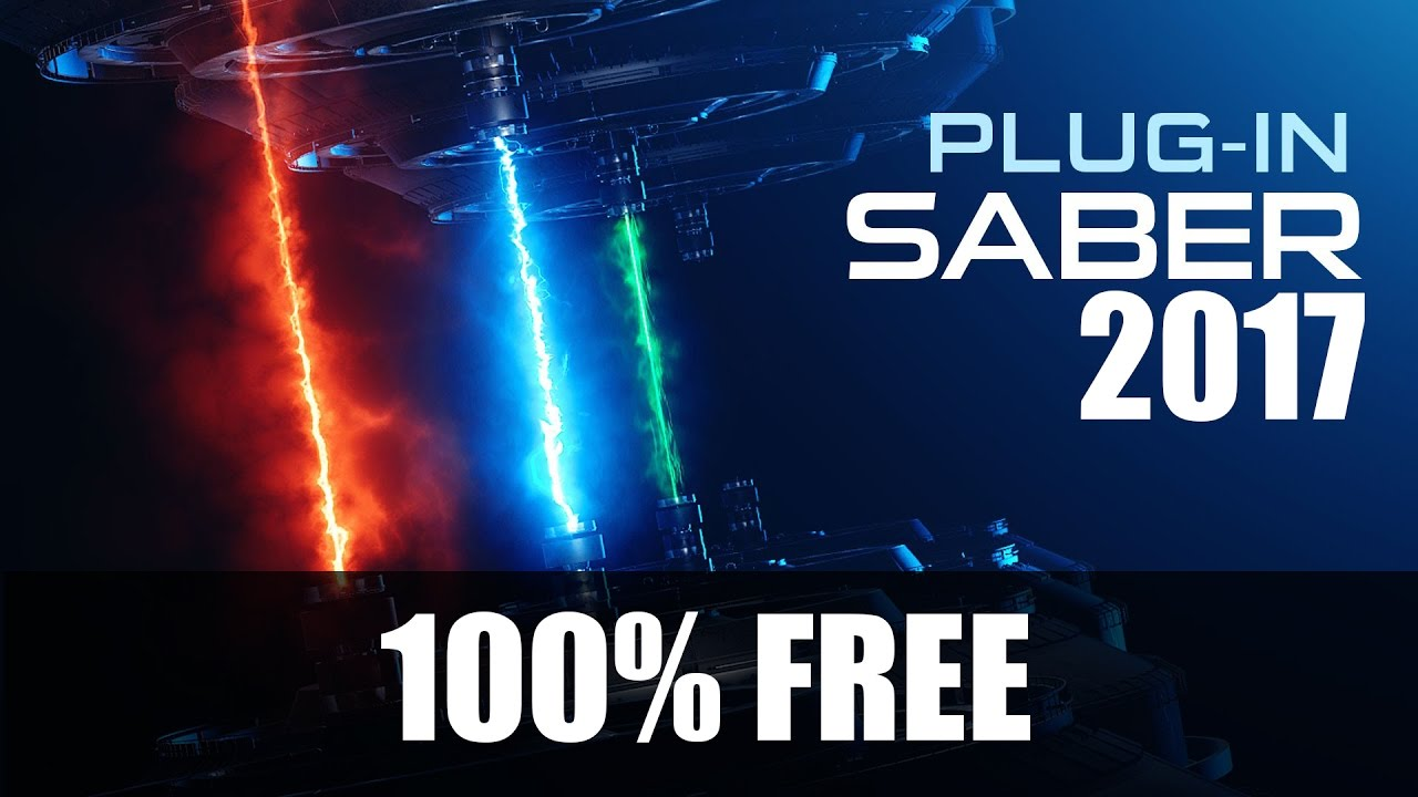 How To Download and Install After effect Plugin Saber For CC 2017 (UPDATE)