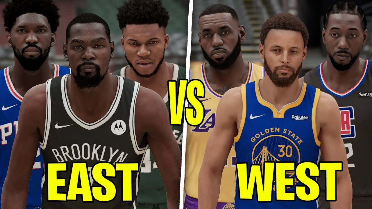 Which NBA Conference Is Better In 2021? East or West?   NBA 2K21