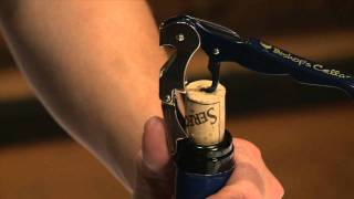Opening a Wine with a Cork Closure