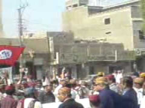 Sindhi Topi and Ajrak Rally - Cultural Day - khairpur mir