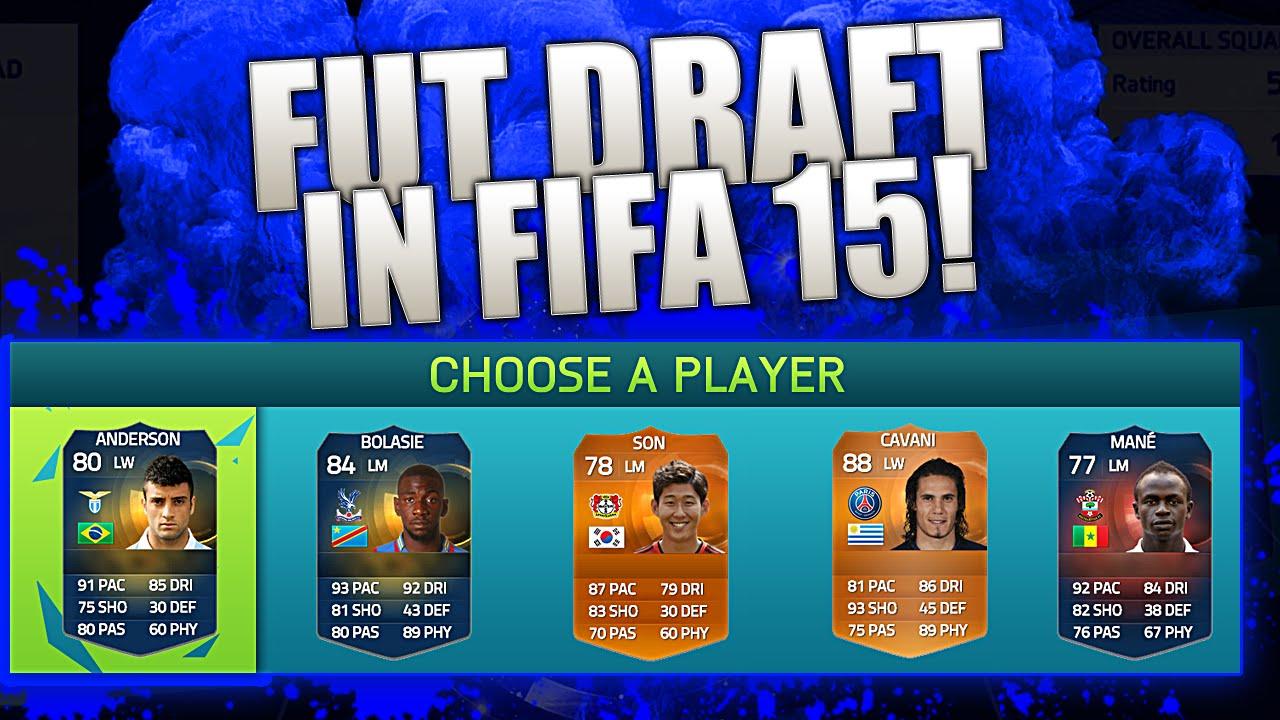 fifa 15 foot draft