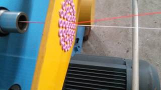 High speed double twisting machine with back twister