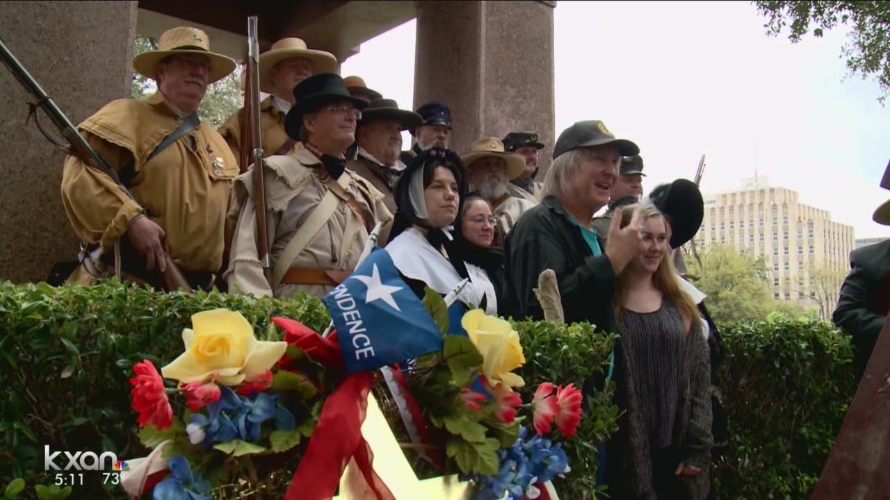 Download Ceremony at Capitol honors Texans who died in Battle of the Alamo