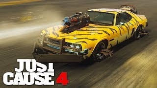 Just Cause 4 is the only good racing game!