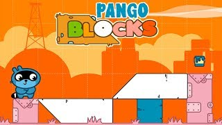 Pango Blocks Game Review #3 - Great puzzles for kids.