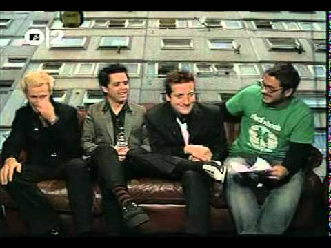 Green Day Interview 2004 (Gonzo TV Show) PART 2