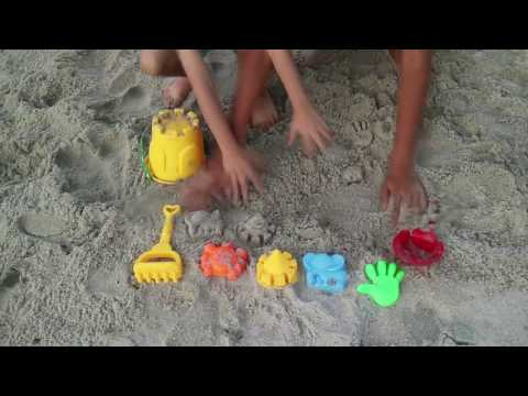 MAINAN ANAK | MAIN PASIR DI PANTAI | PLAY SAND CASTLE | 7 SEASIDE BEACH TOY