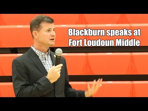 Blackburn speaks at FLMS