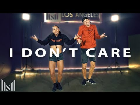 Ed Sheeran & Justin Bieber - I DON&39;T CARE Dance  Matt Steffanina Choreography