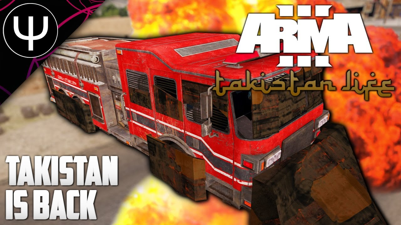 TAKISTAN Is Back... Again! — ARMA 3 Takistan Life