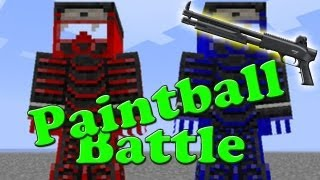Let's Battle Minecraft Paintball Mod S4 #1 [Concrafter + LPmitKev] [HD/German] thumbnail