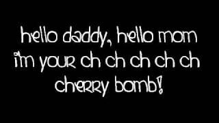 The Runaways - Cherry Bomb lyrics