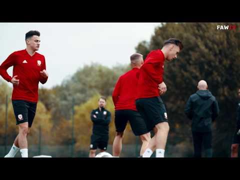 TRAINING: Wales U21s