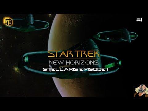 Stellaris - Let's Play Star Trek New Horizons - Episode 1