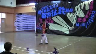 马来西亚国际扯铃竞赛   个人舞台表演赛 国际公开组男子 孙杨威