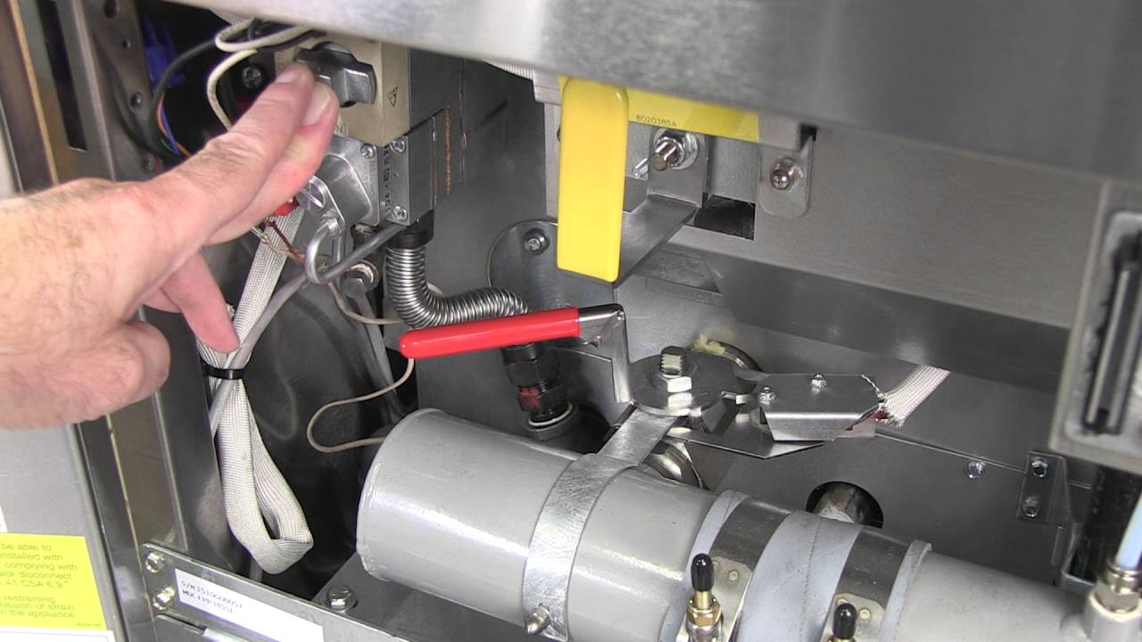 Lighting A Frymaster Master Jet Fryer Youtube