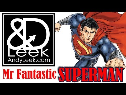 Mr Fantastic (Superman) by Andy Leek