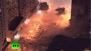 Colapso nocturno: se derrumban dos edificios en el centro de Río thumbnail
