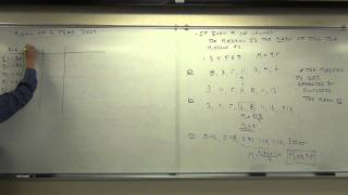 Statistics Lecture 3.2: Finḋing the Center of a Data Set. Mean, Median, Mode