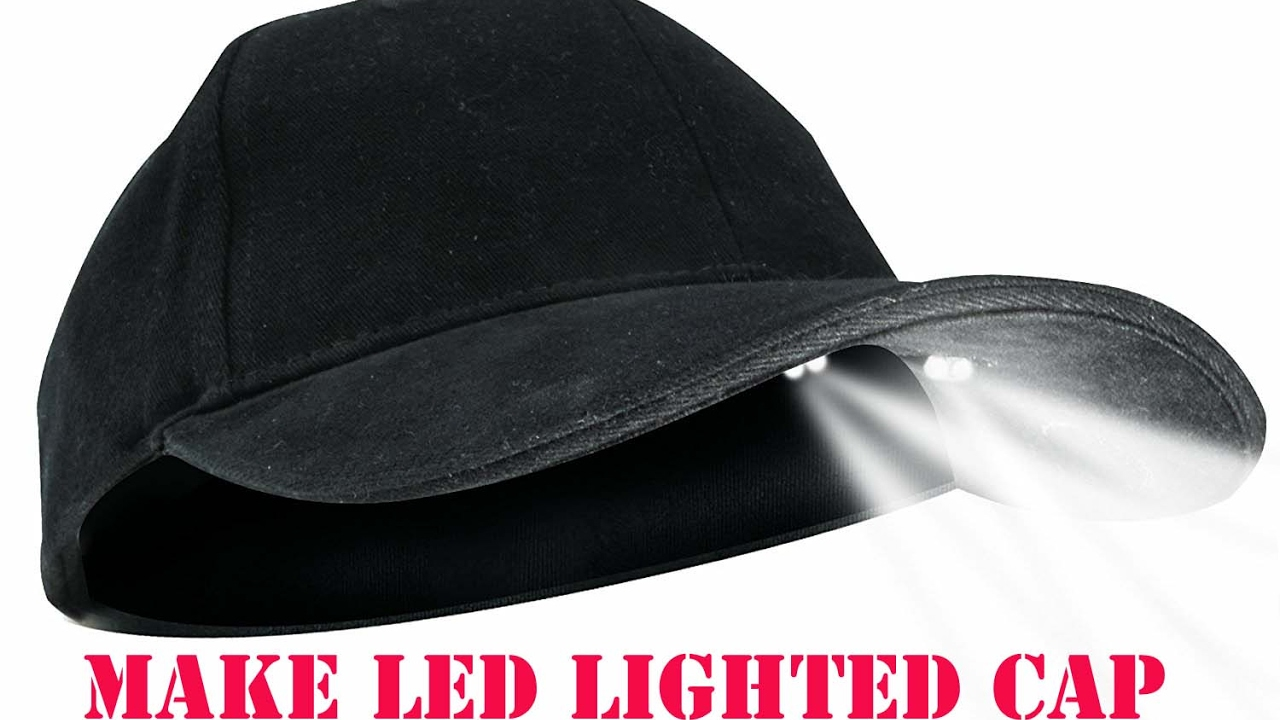 104ee7a7f458f How to make PowerCap LED Lighted Cap DIY