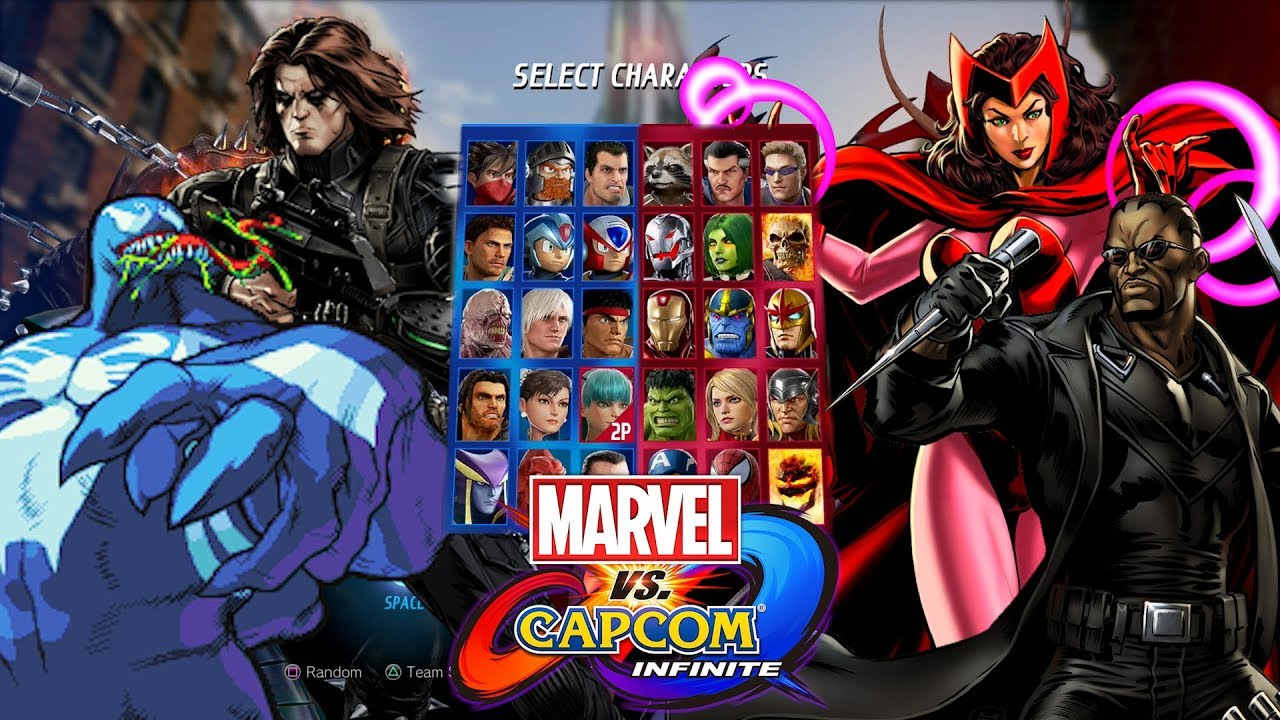 bceeffd00a8 Top 10 MCU DLC characters for Marvel vs Capcom Infinite - YouTube