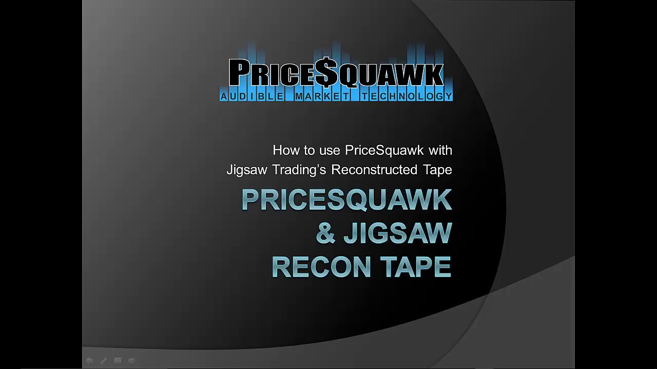 Jigsaw Traders | PriceSquawk
