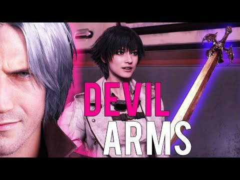 Devil May Cry 5 - Where Are Dante's Old Devil Arms? - New Interview Explains thumbnail