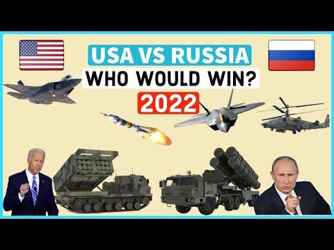 USA VS RUSSIA Military Power Comparison 2021. Who Would Win?