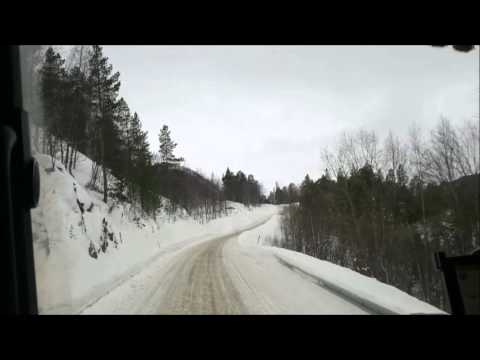 Trucking in Northern Scandinavia, JUNKERDAL Norway