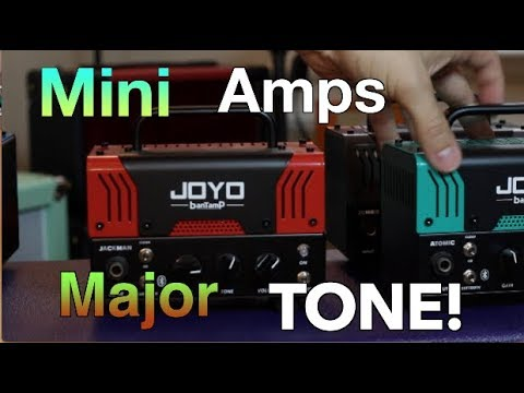 Mini Amps With Mighty Tone!!
