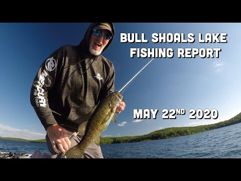 Bull Shoals Lake Fishing Report | Late May 2020 | Del Colvin