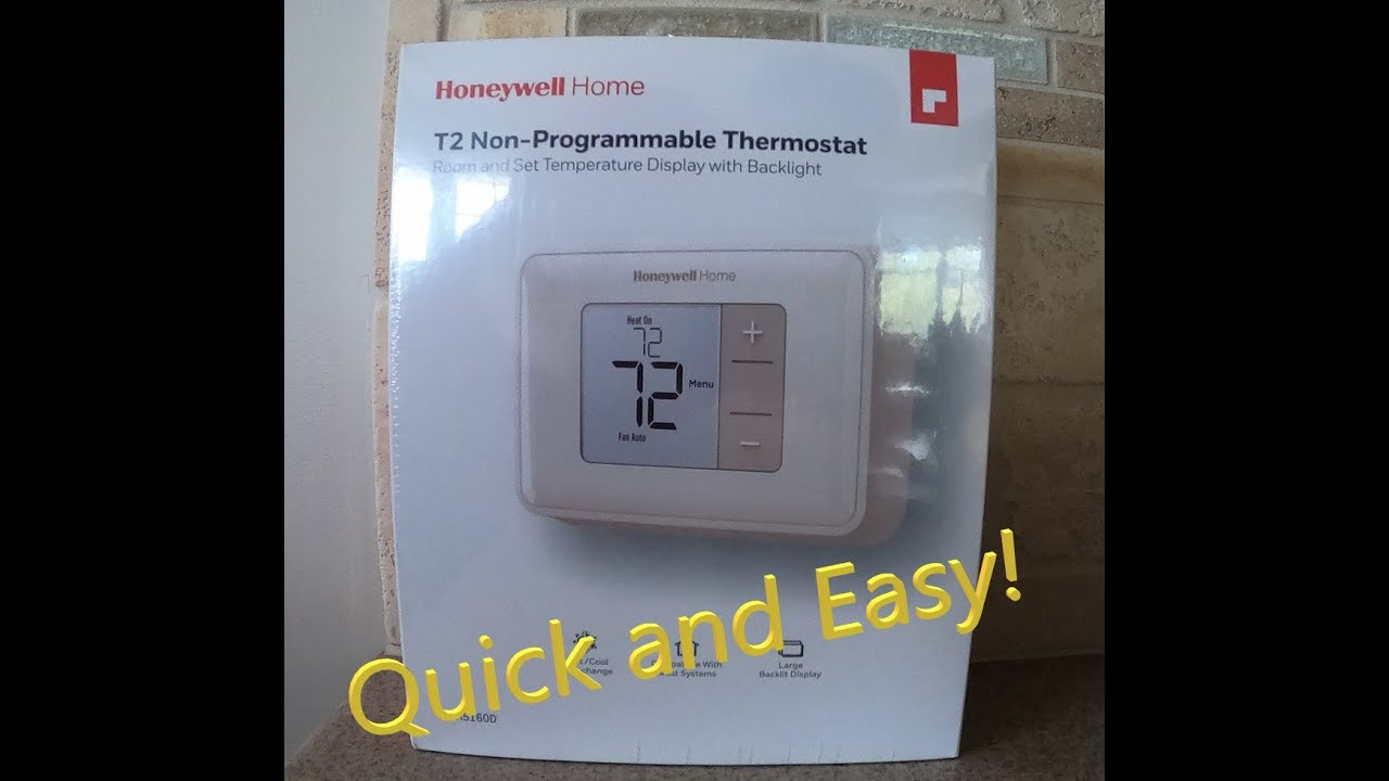 How To Install Thermostat