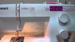 PFAFF hobby 1132 відео огляд